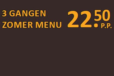 3 gangen zomer menu